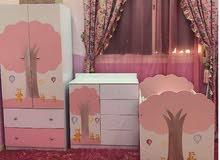 غرفه نوم بناتي للبيع