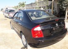 Black Kia Cerato 2006 for sale