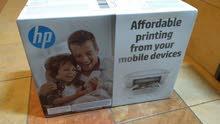 18 دك للبيع طابعة جديدة بالكرتونة اتش بي ديسك جيت DESKJET 2620 /Wifi+print+scan+copy
