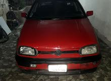 Volkswagen Golf 1993 For sale - Red color
