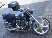 دراجة فكتوري (7250 دينار) 1800 سي سي victory jackpot للبيع او البدل