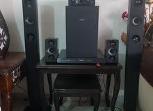 جهاز صوت مستعمل بسيط ((مسرح منزلي))