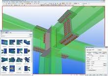 مطلوب فورا مهندسة إنشائية Steel Structure Designer - TEKLA software