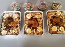 وجبات دجاج وَرز مع اللبن والتمر