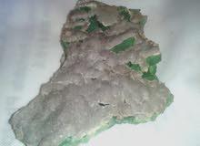 حجر اخضر كريم طبيعي 100% البيع لاعلى سعر .