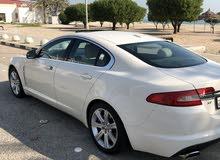 White Jaguar XF 2010 for sale