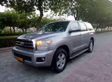 Silver Toyota Sequoia 2011 for sale
