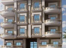 شقة دبل فيو علي حديقة 6000متر والفيو الأخر شارع 35 متر بالتوسعات الشمالية