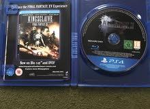 PS4 دسكة Final fantasy. xv