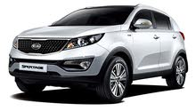 Renting Kia cars, Sportage 2018 for rent in Hawally city