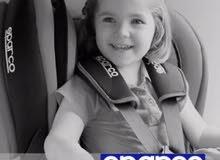 كرسي طفل للسياره اصلي SPARCO