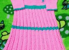 فستان بالكروشيه