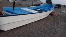 قارب دون مكينه نظيف جديد