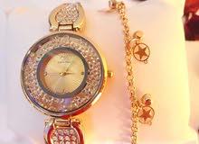 ساعة نسائيه بانسياله السعر 65 دينار