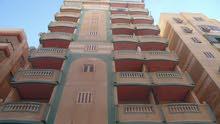 شقة طابق اول علوي بالفرش مسجلة بجوار البحر في شاطئ النخيل