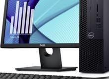 للبيع كمبيوترات مكتبية اصدار حديث مع التوصيل مجانا