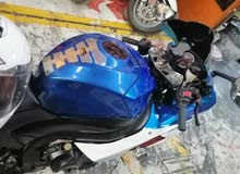 suzuki 1000 gsx full servise blue and white
