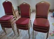 كرسي فاخر عدد 10 استعمال نظيف جداً