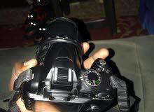 للبيع او المقايطه بتلفون  كاميرا نيكون d3000