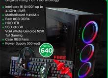PC Gaming VGA 1650 Tuf Gaming