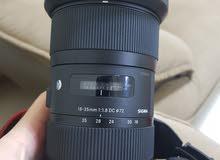 sigma ART 18 35 F1.8 for canon