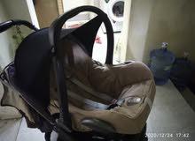 كرسي اطفال سيارة مع عربة اطفال