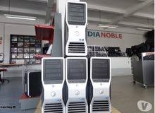 DELL WORKSTATION T5500 برسيسور : XEON x5650 في 2 برسيسور موديل أوروبي