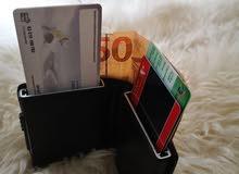 محفظة البطاقات والنقود