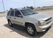 Gold Chevrolet TrailBlazer 2002 for sale