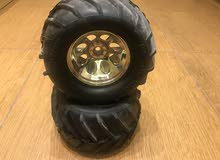 عجلات كيوشو سيارة بريموت rc kyosho mad force wheel tire