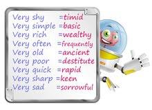 أنا مدرس لغة انكليزية و مدرب دورات محادثة و مهارات اللغة الإنكليزية للمراحل كافة