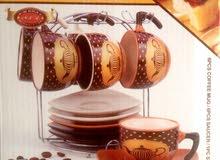 طقم القهوه  عالي الجوده  شكل جدبد و عصري