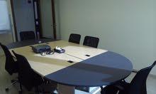 مكاتب مفروشة للإيجار - دوار الواحة - رخصة مهن