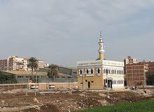 قطعه أرض بناء للبيع بطنطا خلف مصنع الكاوتش
