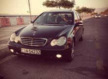 Black Mercedes Benz C 200 2001 for sale