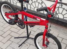 Hummer brand BMX stunt freestyle kids bike 16in excellent condition for sale  Ki