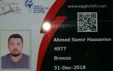 شيف مصرى محترف يبحث عمل