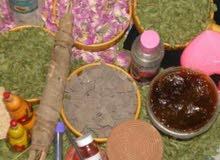 مواد طبيعية للحمام المغربي