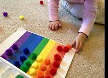 اخصائية تخاطب متواجده لإعطاء جلسات للطفل التوحدي أو طفل متأخر الكلام