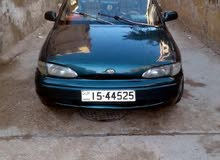Manual Green Hyundai 1995 for sale