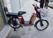 دراجات كهربائيه جديده