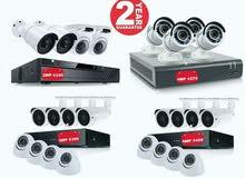اغتنم الفرصة اقوى عروض كاميرات المراقبة لكافة المنشآت التجارية وبضمان عامين