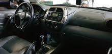 تويوتا راف 4 موديل 2003 خالية من العيوب قير عادي محرك 2000 cc ..