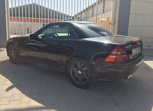 km Mercedes Benz SLK 2001 for sale