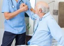 تمريض منزلي ورعايه طبيه ورعاية كبار السن