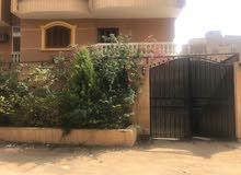فيلا للبيع بحدائق الأهرام واجهه ع الشارع بحري 400متر بالجاردن
