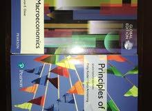 principles of marketing & principles of macroeconomics books