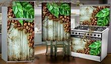 ستيكرات للمطبخ تغير شكل الثلاجه والبوتاجاز