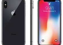 ايفون x 256g سلفر جديد غير مستعمل iPhone x