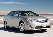 White Toyota Camry 2016 for rent